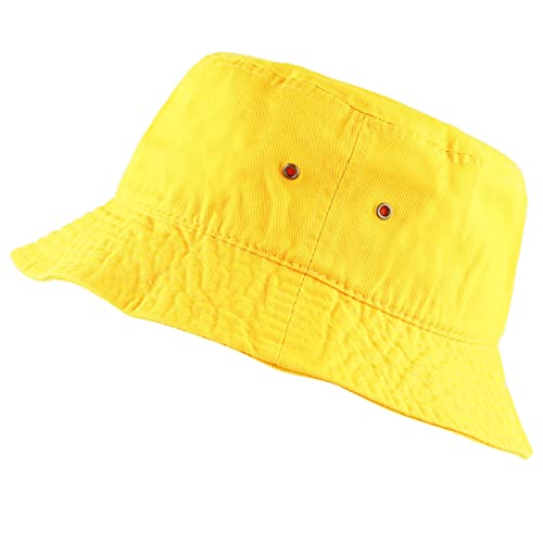 THE HAT DEPOT 300N Unisex 100% Cotton Packable Summer Travel Bucket Hat b56103dbc08