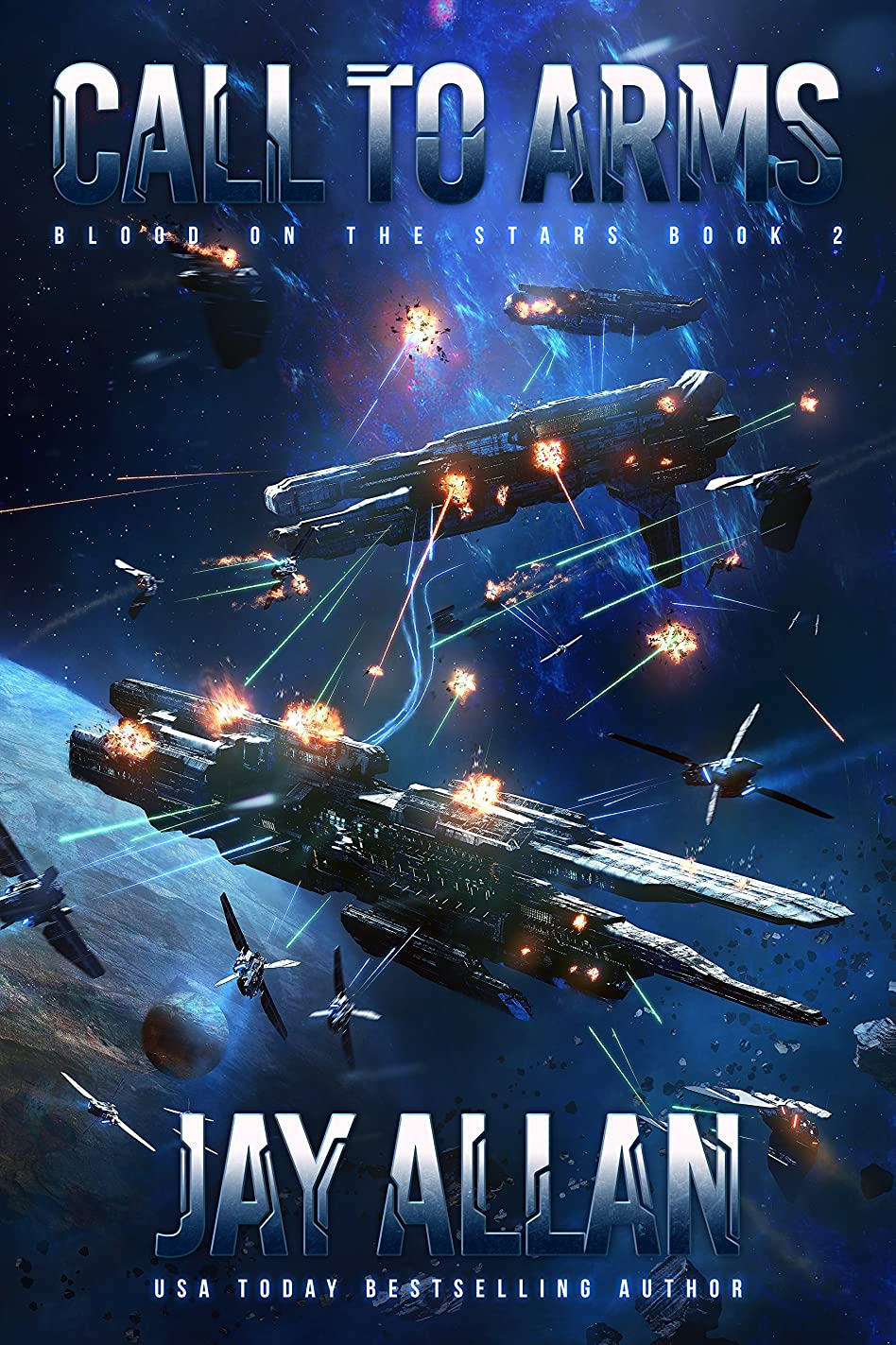 日付付きやろう真似るCall to Arms (Blood on the Stars Book 2) (English Edition)