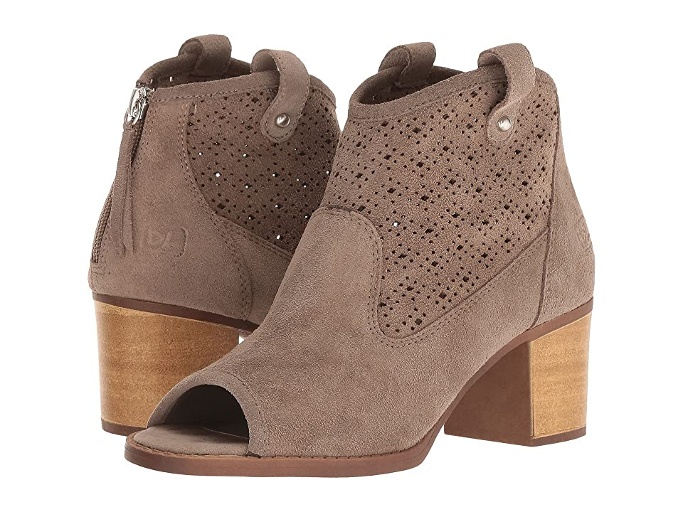 Dirty Laundry Trixie Peep Toe Bootie (Exclusive Grey) Women