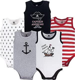 Unisex Baby Sleeveless Cotton Bodysuits