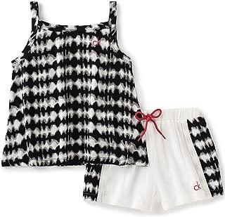 Calvin Klein - Conjunto de Pantalones Cortos para niña (2 Unidades)