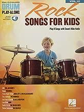 Rock Songs for Kids: Drum Play-Along Volume 41 (Hal Leonard Drum Play-along)
