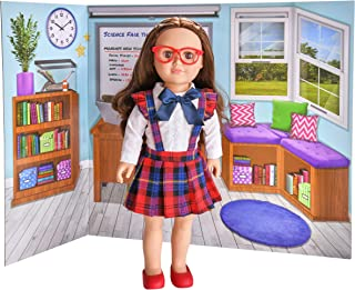 myLife Brand Products My Life As Reversible Background for Use with Dolls, Classroom & Christmas