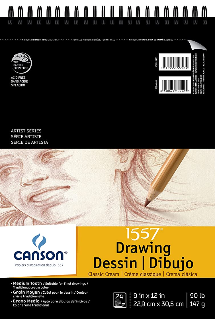 Canson Artist Series Drawing Pad 9