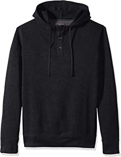 Men's Big and Tall Never Tuck Sweater Fleece Solid Hoodie Pullover