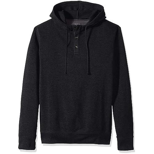 7910af9ecc Van Heusen Men s Big and Tall Never Tuck Sweater Fleece Hoodie