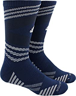 adidas Unisex Speed Mesh Basketball/Football Team Crew Sock