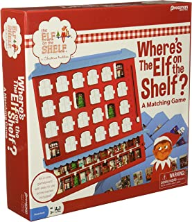 Pressman Elf on the Shelf: Where's the Elf on the Shelf?