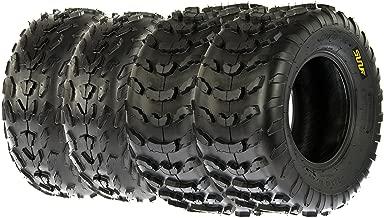 SunF A007 ATV/UTV Tires 18x7-7 Front & A006 22x10-10 Rear, Set of 4