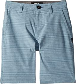 O'Neill Kids Locked Stripe Hybrid Shorts (Big Kids)