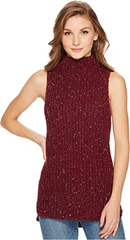 kensie - Twisted Slub Sleeveless Sweater KSNK5760