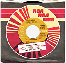 45vinyl GOLDEN YEARS / CAN YOU HEAR ME (7
