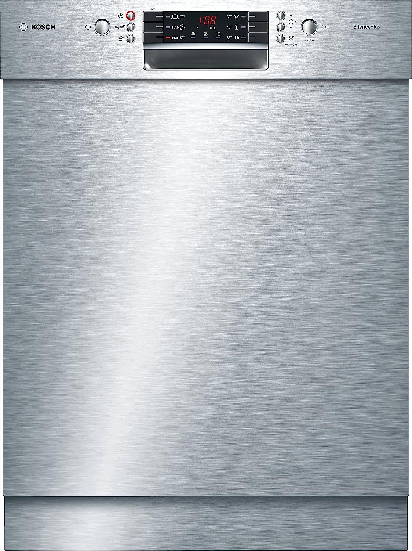 Bosch Serie 4 SMU46CS01E lavavajilla Semi-incorporado 13 cubiertos A+++ - Lavavajillas (Semi-incorporado, Tamaño completo (60 cm), Acero inoxidable, 1,75 m, 1,65 m, 1,9 m)