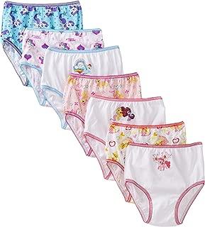 Handcraft Little Girls'  My Little Pony Rotating Print  Underwear Set (Pack of 7), Multi, 2/3T