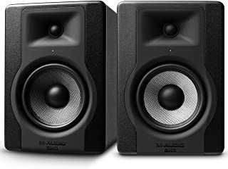 """M-Audio BX5 D3 Pair – Par de Monitores / Altavoces activos de estudio bidireccionales, 100 W con woofer de 5"""" para producción musical y mezcla de música, con función Acoustic Space Control incorporado"""