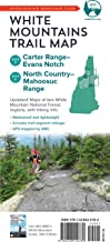 AMC White Mountains Trail Maps 5–6: Carter Range–Evans Notch and North Country–Mahoosuc