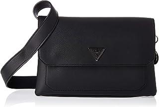 GUESS womens Ambrose Flap Shoulder Bag HANDBAGS