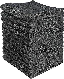 comprar comparacion Utopia Towels - 12 Toallitas de algodón (30 x 30 cm, Gris)