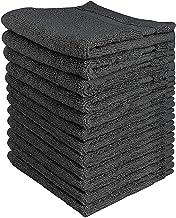 حوله Utopia 600 Washcloths GSM، 12 بسته، خاکستری