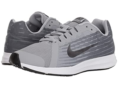 Nike Kids Downshifter 8 (Big Kid) (Wolf Grey/Metallic Dark Grey/Cool Grey/Black) Boys Shoes