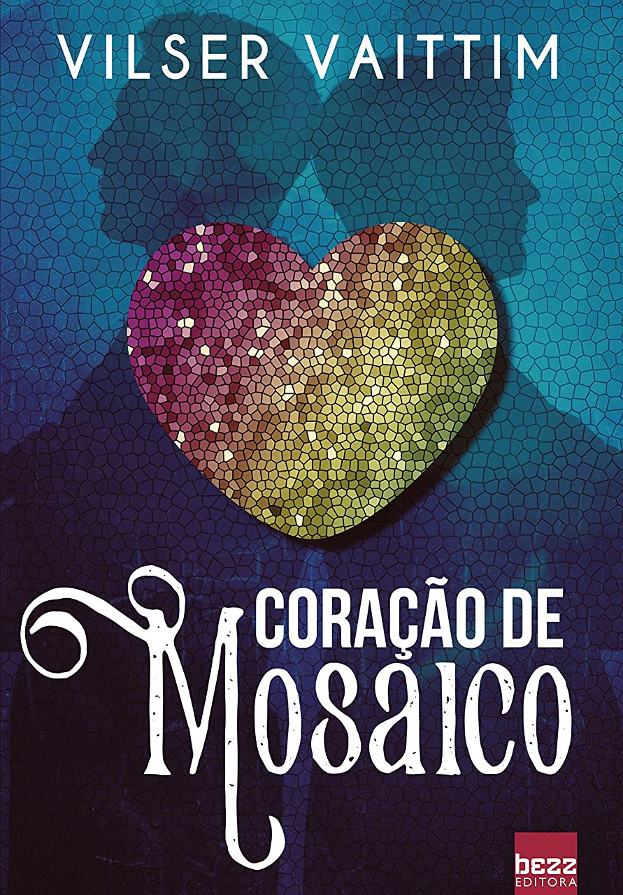 銀行タイル隠すCora??o de Mosaico (Portuguese Edition)
