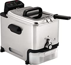 T-fal Deep Fryer with Basket, Stainless Steel, Easy to Clean Deep Fryer, Oil Filtration,..