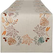 DII Fall & Holiday Tabletop, Table Runner, Autumn Leaves
