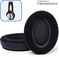 Wicked Cushions Bose Headphones Replacement Ear Pads - Compatible with QC15 / QuietComfort 15 / Ae2 / Ae2i / Ae2w / SoundTrue and SoundLink Over-Ear | Velour