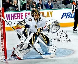Marc-Andre Fleury Vegas Golden Knights Autographed 16