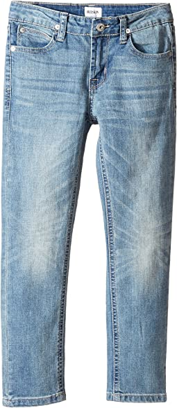 Hudson Kids - Jagger Slim Straight Five-Pocket in Plaster Wash (Toddler/Little Kids/Big Kids)