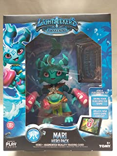 Lightseekers Awakening Mari Hero Pack Includes Mari & Augmented Reality Trading Card, Mari Hero Reacts to Game with Voice ...