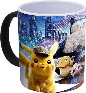 Detective Pikachu POK koffiemok met kleurverandering, warmtegevoelig, 300 ml