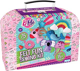 Felt Creative Arts and Craft Sewing Supplies Kit for Boys and Girl Ages 8+ Make Your Own 15+ DIY Characters - Educational ...