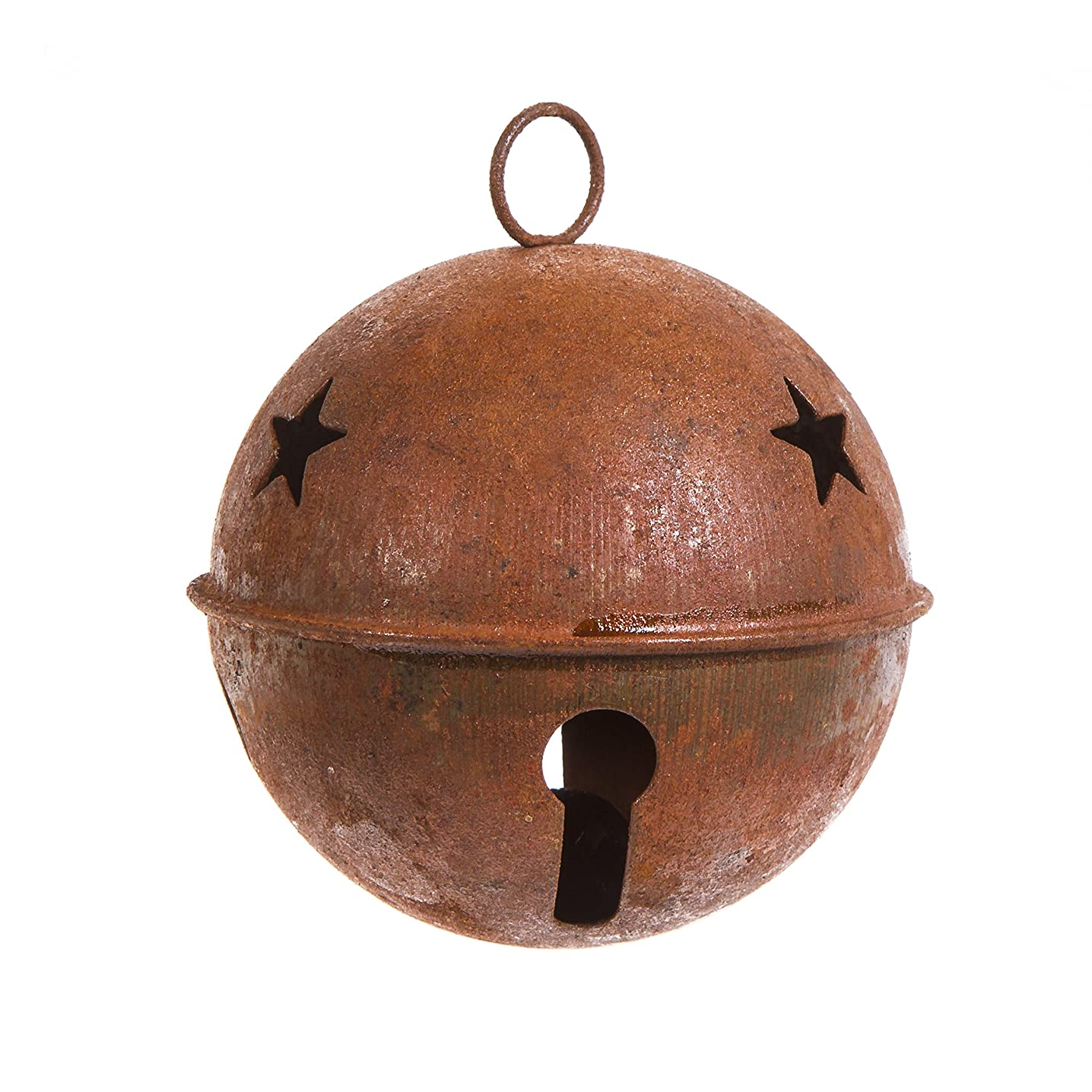 Darice Large Rusted Vintage Bell - 3.15