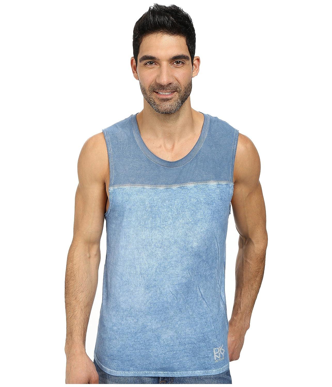 [カルバンクライン] DKNY Jeans メンズ 50/50 + Solid Jersey Pieced Muscle Tank Top トップス [並行輸入品]