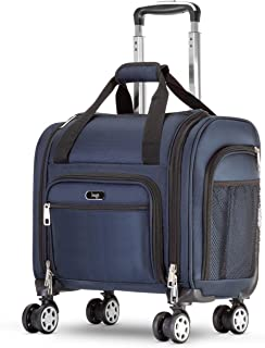 Four Wheeled Spinner Underseat Carry On - Multiple Compartments
