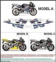 Shiwaki 2 St/ücke Motorrad Seiten Tankpad Schutz Aufkleber F/ür Suzuki GSXR
