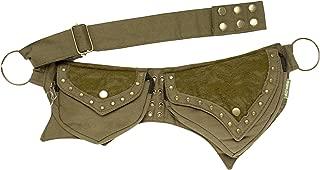 Practical Fannypack Cotton Waistbag Travel Utility Belt