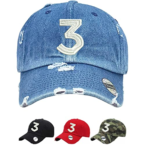 44d648366b724 Allntrends Adult Dad Hat Chance 3 Dad Hat Embroidered Cool Hot Cap