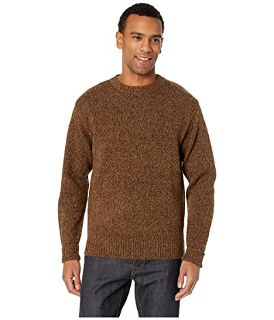 Pendleton Shetland Crew Sweater (Beaver Marl) Men