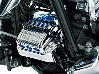 Kuryakyn 1547 Motorcycle Accent Accessory: Regulator Cover for 1997-2011 Harley-Davidson Touring Motorcycles, Chrome