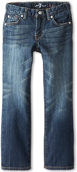 7 For All Mankind Kids - Standard Jean in New York Dark (Little Kids/Big Kids)