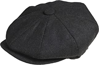 a2405d67f0e27 Peaky Blinders - Casquette style gavroche - 8 pièces - Casquette  plate 100