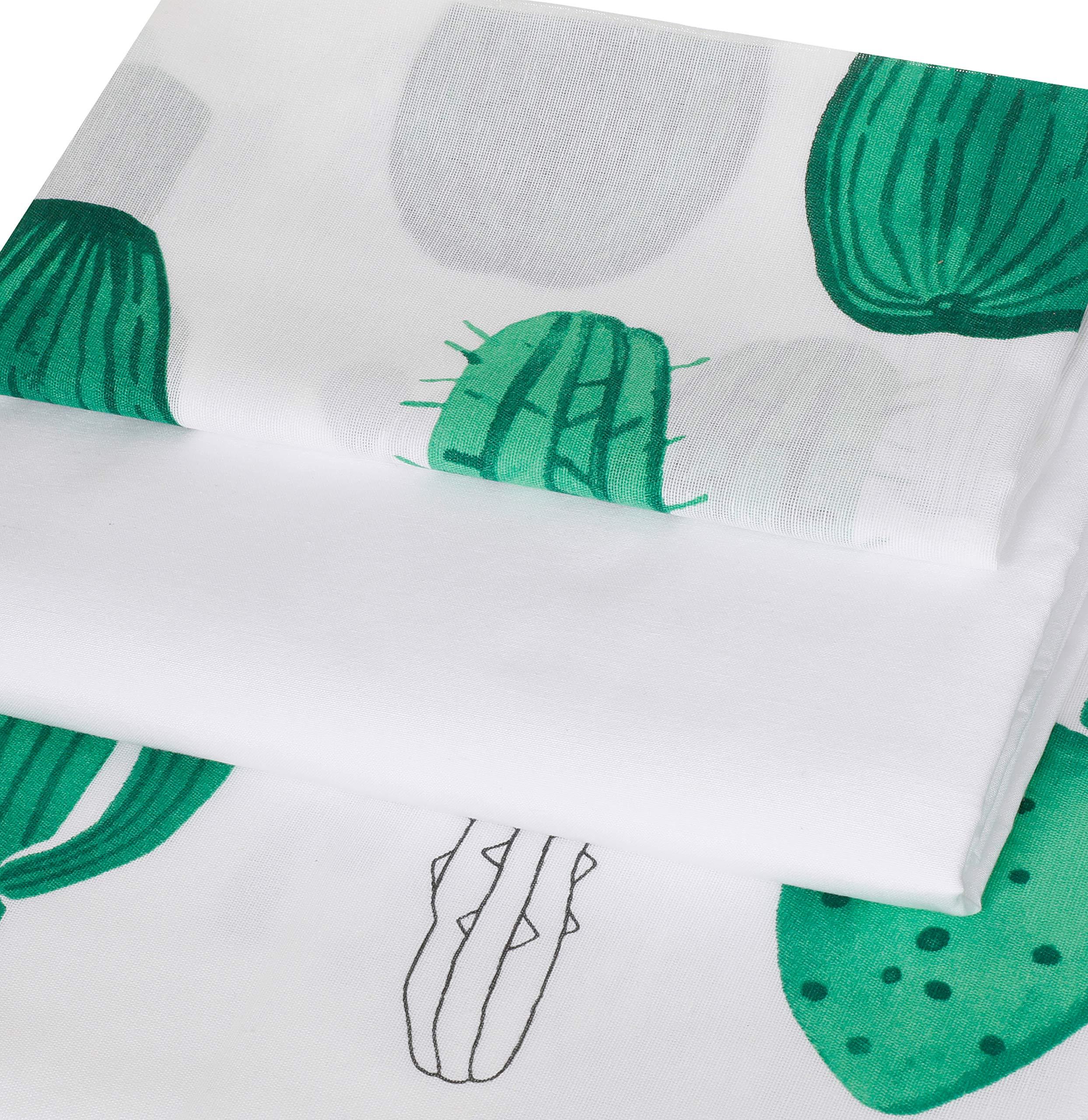 Kolay Utulenir Nevresim Takimi Tek Kisilik Kaktus Yesil Amazon Com Tr