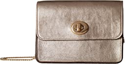 COACH - Bowery Crossbody in Metallic Leather