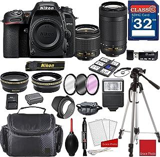 Nikon D7500 DX-Format Digital SLR w/AF-P DX NIKKOR 18-55mm f/3.5-5.6G VR Lens & AF-P DX 70-300mm f/4.5-6.3G ED Lens + Prof...