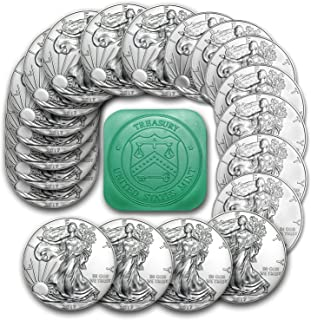 2018 Silver Eagle 2018 Silver Eagle Roll of 20 Coins Brilliant Uncirculated