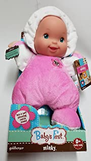 Goldberger Doll Mfg. Co. Baby's First Minky Rag Dolls - Pink