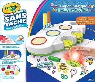 Crayola - Tampons Magiques Parfumés Color Wonder - Loisir créatif - Color Wonder - à partir de 3 ans - Jeu de dessin et co...