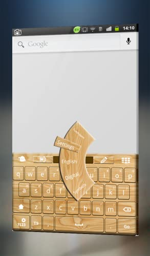 『木製キーボード』の3枚目の画像